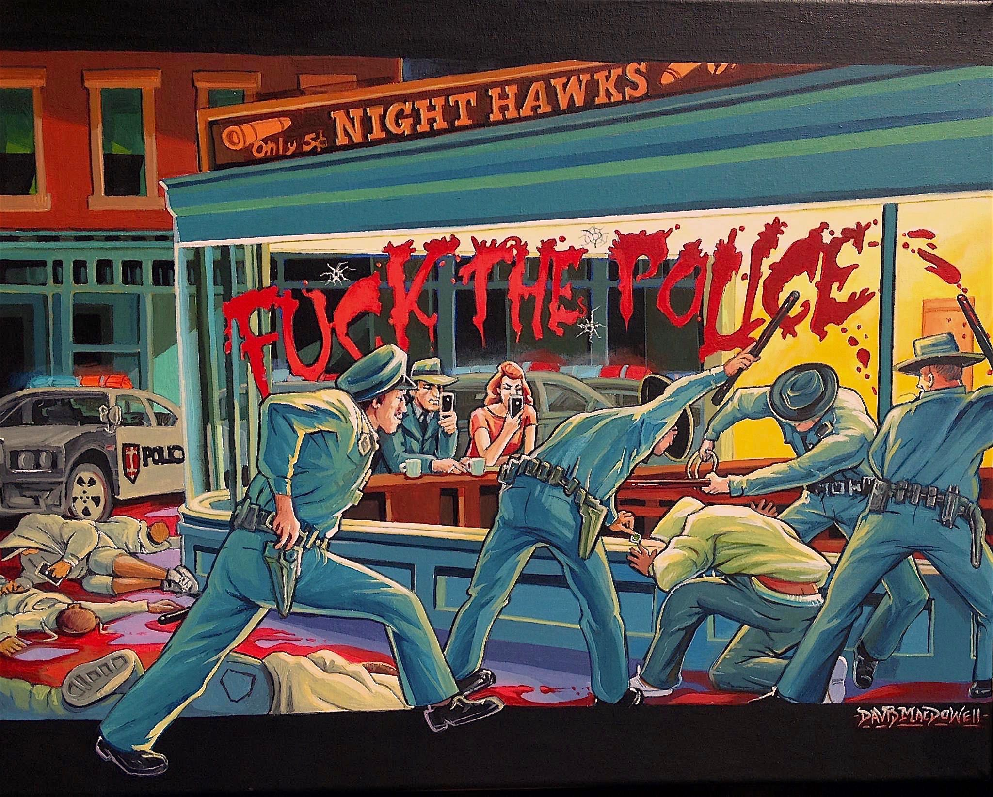 trump art dave macdowell NWA FTP Edward Hopper