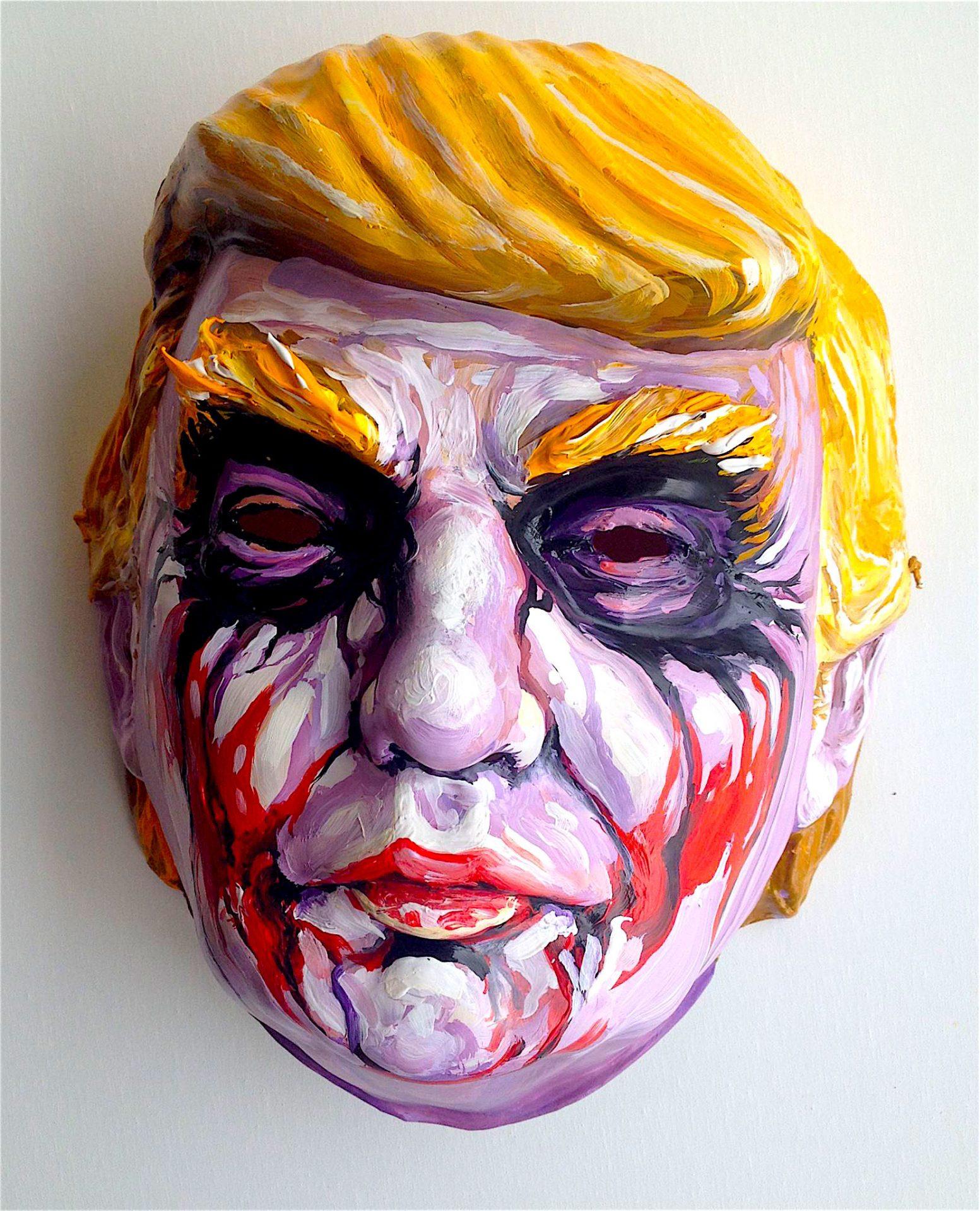 trump art dave macdowell mask