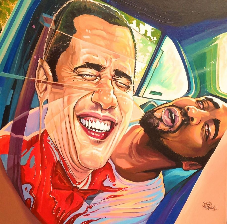 Trump art Dave MacDowell Obama Philandro Castille