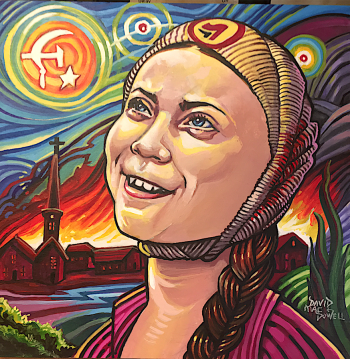 Stolen Dreams of Starry Nights by Dave MacDowell
